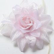Braut Hochzeit Handgelenk Feder Simulation Blumen Kopfschmuck Corsage
