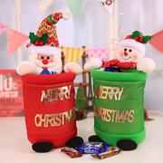 Christmas Santa Snowman Candy Bag Non-woven Christmas Decorations