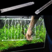 Fish Tank Aquarium Air Stone Bubble Wall Aeration Tube Oxygen Pump Diffuser High Efficiency And With