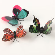 12Pcs 3D Butterfly Brooch Wall Sticker Home Room Curtain Wedding Decoration