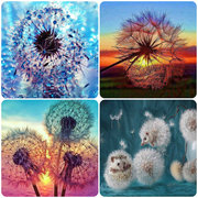 Dandelion 5D DIY Diamond Painting Embroidery Cross Stitch Home Decor