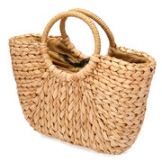 Straw Bag Women Summer Rattan Bag Handmade Woven Circle Bohemia Beach Handbag