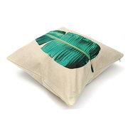 45x45cm Tropical Tree Cotone Lino Cuscino Cover Cintura di Vita Cuscino Case Home Divano Divano letto per auto