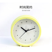 Creative Bedside Mute Fashion Office Children Students Latest Cartoon Simple Alarm Clock