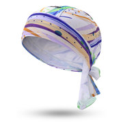 Mens Pirate Hat Breathable Foldable Sports Cap Sun Cap Outdoor Riding Headpiece