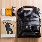 Мужская сумка Повседневная Многофункциональный рюкзак Solid Crossbody Сумка