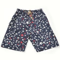 Mens Verão Impressão Moda Casual Bolso Elástico Na Cintura Quick Dry Sports Board Shorts