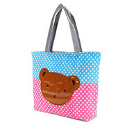Cute Bear Modello Borsa da donna in tela