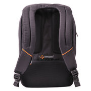 15 Inch Nylon Backpack With Earphone Hole Business Travel Waterproof Expandable Laptop Bag For Men