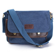 Women Men Casual Canvas Shoulder Bag Crossbody Bag