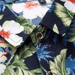Camicia hawaiana in cotone