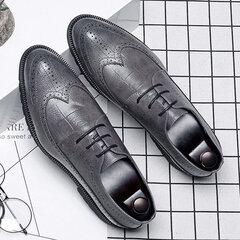 رجال حجم كبير البروغ الدانتيل يصل عارضة أوكسفورد الأعمال الرسمي الأحذية