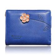 Women 3D Print Floral Short Wallet