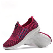 Knitting Breathable Trainers For Women