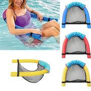 المزدوج سباحة المعكرونة بركة العائمة كرسي انفصال السرير رغوة العوامة عصا الشاطئ السباحة مساعد أداة