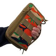 Men Nylon Outdoor Sports Wallet Army Fan Tactical Camping Tool Bag Clutch Bag