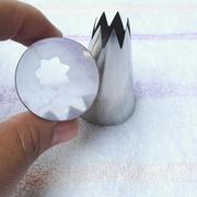3Pcs DIY acciaio inossidabile fiore russo di ghiaccio tubi flessibili della torta che decorano suggerimenti Kit di cottura dei corredi
