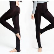 Women Winter Thick Thermal Fleece Lined Stretchy Leggings Pants Elastic Pantyhose