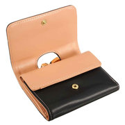 Women Short Wallet Folding Pure Color Hasp Card Holder Purse