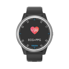 Fashion Casual Watch Dual Monitor Blood Pressure IP67 Call Message Push Fitness Tracker Smart Watch