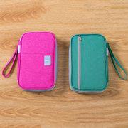 Femmes Nylon Portable Boarding Bag Passport Pochette