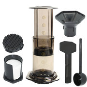 Press Coffee Maker Pot Portable Coffee Maker Air Press Espresso Machine with 350pcs Filter Papers