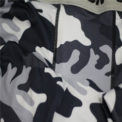 Mens Camo Quick Drying Breathable Training Running Sports Skinny Tights