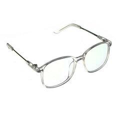 Herren Damen Transparente Brillenfassung Vollrandbrille Durchsichtige Brille