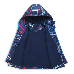 Thick Winter Printed Boys Jacket Kids Hooded Windbreaker Baby Boys Trench Coat