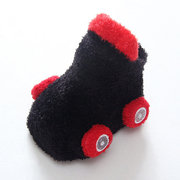 Car Shaped Baby Boys Anti-slip Warm First Walker Shoes Footwear For 0-5 Years
