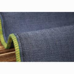 Tela confortável Jeans da ascensão meados de magro reta do pé ocasional do negócio para homens