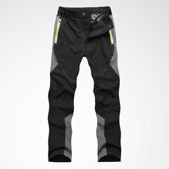 Mens Outdoor idrorepellente ad asciugatura rapida sottile traspirante Sottile Fit Climbing Sport Pantaloni