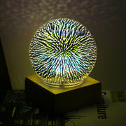 Magic USB Sphere Lightning Lamp Light Party Glass Colorful Ball Home Decor Christmas Gifts