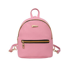 Women's Backpack Candy Color Solid Preppy Chic Mini Bag