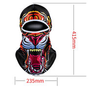Mens Spandex Cool Breathable Bicycle Full Face Mask Hats Sunshade Windproof Dust-proof Cap