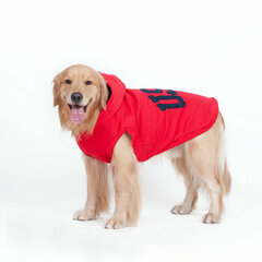 Winter Soft Warm Hoody for Big Dog Pet Thicken Keep Warm Coat Clothes Easy Wear