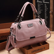 Women Vintage Oil-wax PU Leather Handbag Shoulder Bags Crossbody Bags