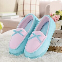 Candy Color Bowknot Slip On Piatto Home Shoes