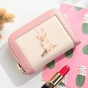 Portefeuille Porte-cartes Mini Modèle Porte-monnaie Femme Motif
