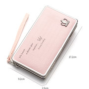 baellerry Crown Decorational Universal 5.5 Inch Phone Bag Wallet PU Phone Case Purse For Women