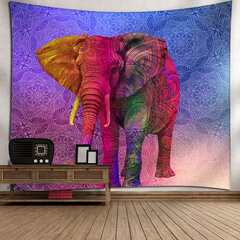 Multi-color Bohemian Spiritual animals  Wall Hanging Tapestry Home Living Room Decor Tapestry