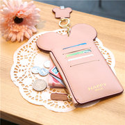 Women Touch Screen Cute Animal Shape Card Holder 4.7inch/5.5inch Phone Bag Coin Purse