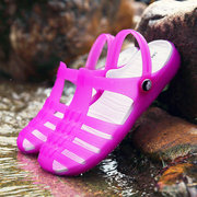 Hollow Out Wade Slippers Beach Jelly Shoes