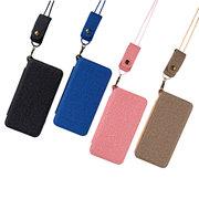 Correa de mano unisex multifunción con cordón, monedero, tarjeta, teléfono Caso que se puede montar en el automóvil