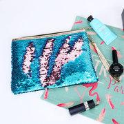 Kit de lentejuelas sirena Sobres europeos y americanos con bolsa de cosméticos