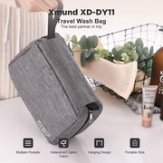 Xmund XD-DY11 3-Layer Waterproof Wash Bag Travel Portable Folding Hanging Storage Bag With Hook