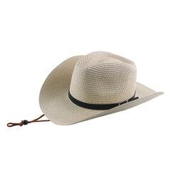 Широкая солома Шапка Ремень Пряжка Мужская Летняя защита от солнца Шапка Складная