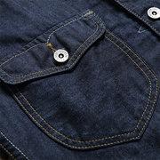 Printemps Automne Personnalité Style Vintage Couleur Unie Vestes Pour Hommes