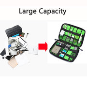 Women Men Digital Storage Bag Multifunction Business SD Card USB Cable Storage Bag