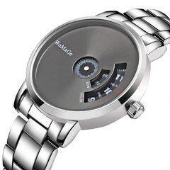 Minimalist Fashion Quartz Watch Stainless Steel Dial Waist Watch Waterproof Waist Watch For Men